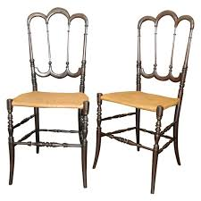 chiavari chair for sale pair of chiavari chairs at 1stdibs
