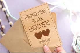 congrats engagement card engagement cards