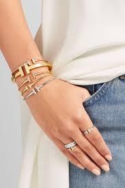 tiffany wire bracelet images Tiffany co t wire narrow 18 karat rose gold bracelet net a jpg
