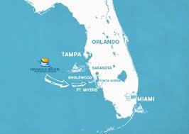 Map Of Punta Gorda Florida by The Area Myakka River Motorcoach Resort
