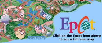 disney epcot map epcot