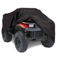 polaris four wheeler amazon com budge sportsman extra large atv cover trailerable fits