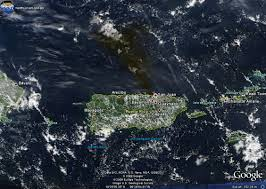Puerto Rico Google Map by U S Air Quality Puerto Rico Refinery Fires Captured By Noaa And