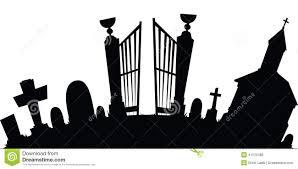 graveyard clipart cartoon graveyard stock illustration image 41570486