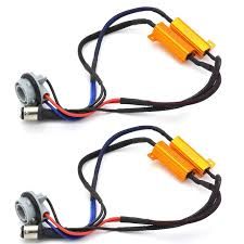 load resistors for led lights ysy 2x 50w 8ohm 1157 bay15d led load resistors led bulb fast hyper