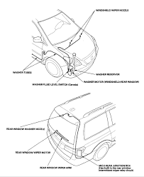 windshield washer on 2006 honda odyssey does not work fuse is