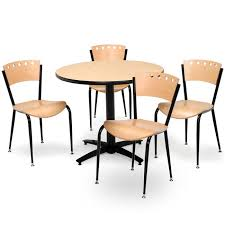 36 round cafe table kfi seating arched base cafe table with four 3818a cafe chairs 36