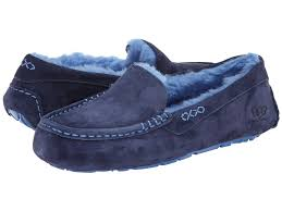womens ansley ugg slippers sale ugg slippers for ansley peacoat blue on sale 63 49