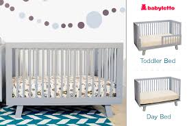 cribs that convert to toddler bed babyletto hudson babyletto hudson 3 in 1 convertible crib with