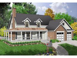 Country Home With Wrap Around Porch Bernardsville Country Home Plan 030d 0047 House Plans And More