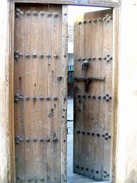 Wooden Door Traditional Wooden Door Taken In A Poor Village South Of U2026 Flickr