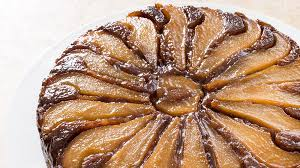 weekend recipe pear walnut upside down cake kcet