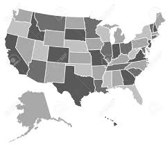 United States Blank Map by United States Outline Stock Photos U0026 Pictures Royalty Free United