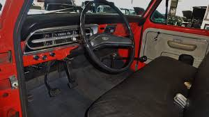 Red Barn Custom Wheels 1971 Ford F 100 Sport Custom 4x4 Pickup Stock K03389 For Sale