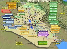 Iraq Province Map Maps Of Iraq