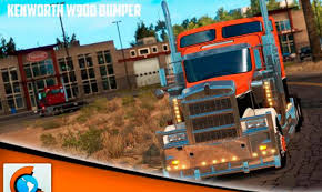kenworth truck bumpers kenworth w900 bumper multiplayer mod american truck simulator