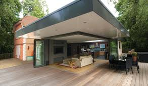Bifold Exterior Doors Prices by Backyards Bifold Doors Sliding Glass Roofs Home Page Gallery