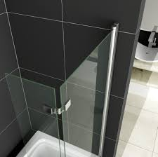 28 over bath folding shower screens over bath shower over bath folding shower screens 180 176 pivot 6mm glass over 2 fold folding hinge shower