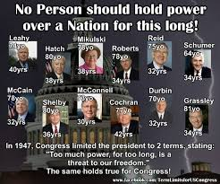 Congress Meme - term limits for congress