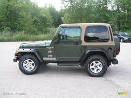 sahara jeep 1997 moss green pearl jeep wrangler sahara 4x4 33745178