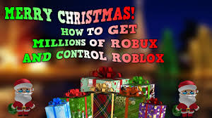 give yourself and family millions of robux for christmas getting