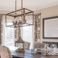 black kitchen light fixtures rustic farmhouse breakfast area reveal before and after