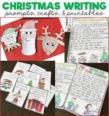 christmas writing prompts printables and crafts susan jones