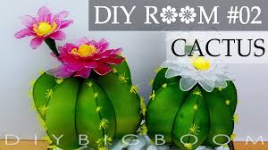 Diy Room Decor For Small Rooms Diy Room Decor For Small Rooms Girls How To Make Cactus Nylon