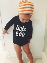 funny halloween t shirts little boo graphic long sleeve onesie and shirt babies