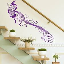 popular butterfly music wall decal buy cheap butterfly music wall big butterfly music notes vinyl wall sticker wall decal diy decoration fashion romantic wall sticker