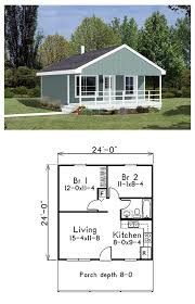 Standard Measurement Of House Plan Tiny Houseplan 85939 Is 576 Square Feet In Size With A Generous