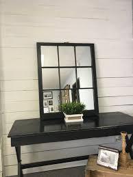 Home Interior Mirror by Black Window Pane Mirror Furniture Unique Windowpane Mirror For