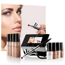 professional airbrush makeup machine luminess air epic 2 airbrush system with tutorials