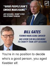 Memes Cafe - cafe good people don t smoke marijuana jeff sessions trump s pick