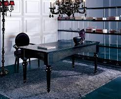 Black Desk Office Modern Office Desk 03 Desks