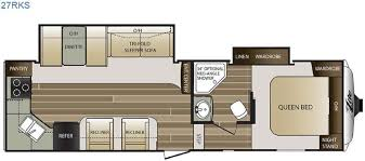 Cougar 5th Wheel Floor Plans New 2016 Keystone Rv Cougar X Lite 27rks Fifth Wheel At Bullyan Rv