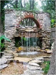 Small Rock Garden Pictures by Backyards Outstanding Rock Garden With Small Fountain Hypertufa