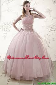 light pink quince dresses one shoulder beading light pink quinceanera dresses for 2015 192 32