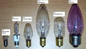 what size light bulb different size light bulbs bulb comparison what size light bulbs for