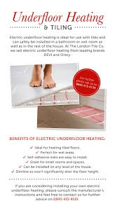 Laminate Flooring With Underfloor Heating Best 25 Underfloor Heating Mats Ideas On Pinterest Heated