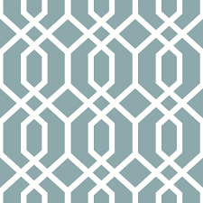 Peel And Stick Wallpaper by Shop Brewster Wallcovering Peel And Stick Blue Vinyl Geometric