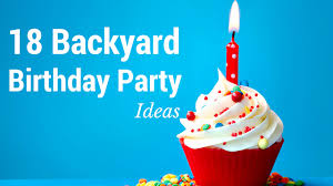 have a decent sized backyard here are 18 cool backyard birthday