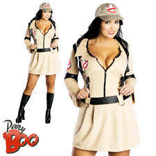 Ghostbusters Halloween Costume Womens Ghostbuster Costume Ebay