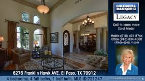 homes for sale 6276 franklin hawk ave el paso tx 79912 coldwell