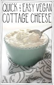 non dairy cottage cheese easy vegan cottage cheese it doesn t taste like chicken