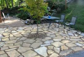 Patio And Things by Flagstone Patio And Firepit Flagstone Patios And More Details