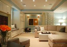 26 charming and bright finished basement designs basements