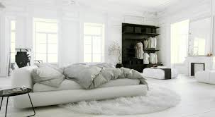 Black And White Bedrooms Improving House Aesthetic With All White Bedroom Ideas Lalila Net