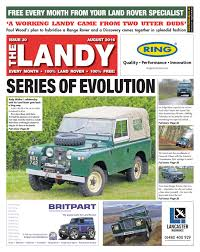 land rover rnli the landy august 2016 by assignment media ltd issuu