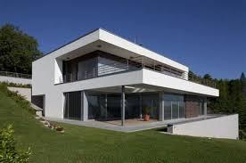 bureau et maison maison cubique toit plat 7 maison contemporaine nos